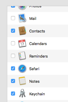 notes on OS X