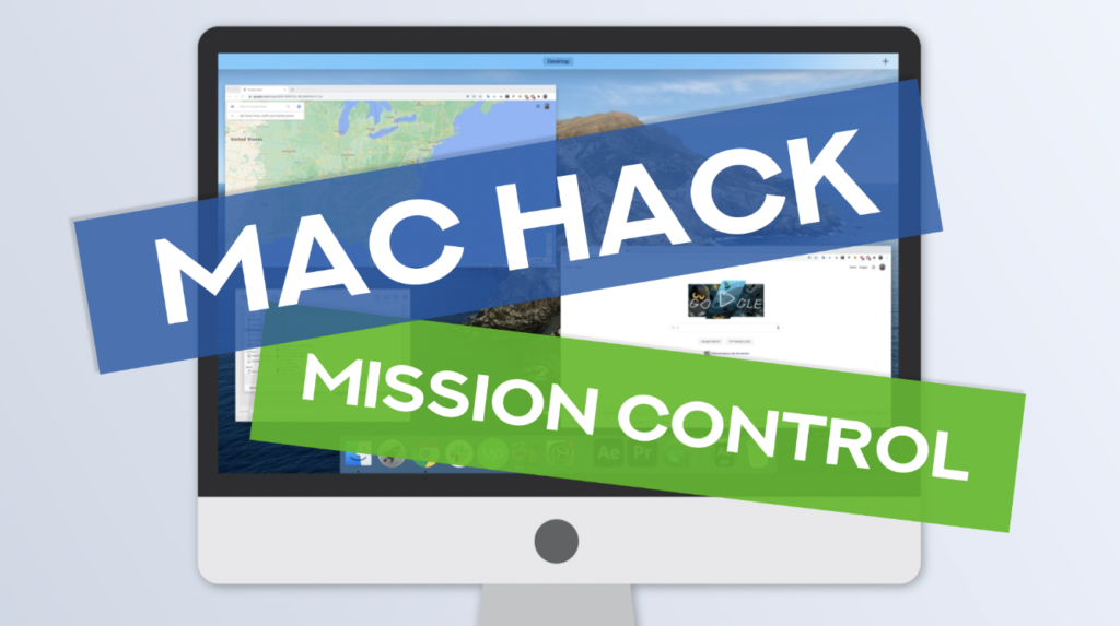 use mission control to make working on your Mac better